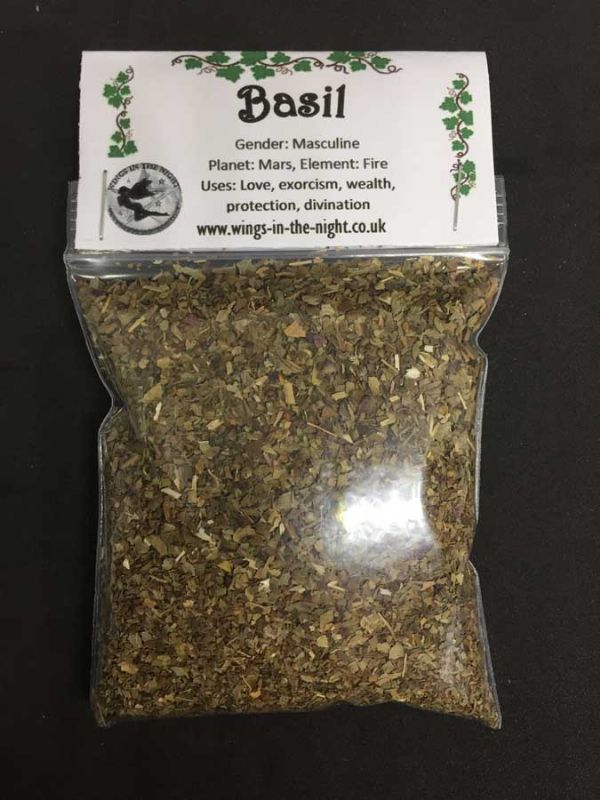 BASIL Dried Magical Spellcraft Herb
